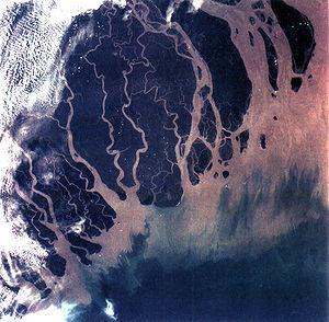 300px-Ganges_River_Delta,_Bangladesh,_India
