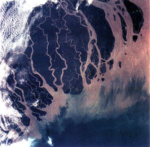 300px-Ganges_River_Delta,_Bangladesh,_India